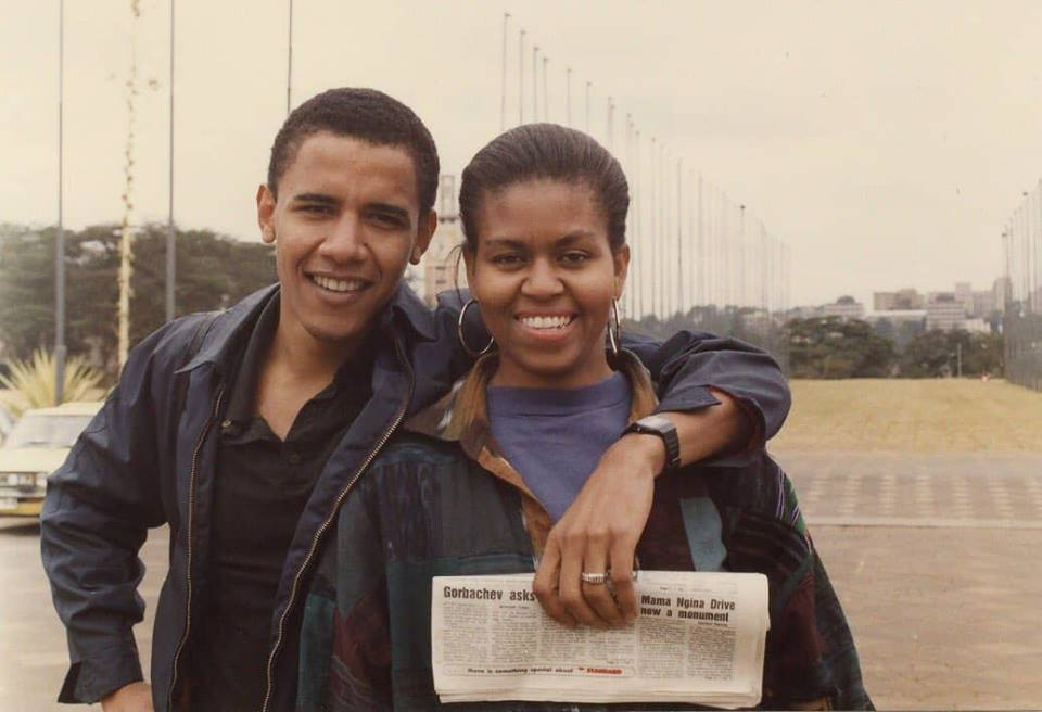 اڳوڻي آمريڪي صدر اوبام جي جواني جا ڏينهن