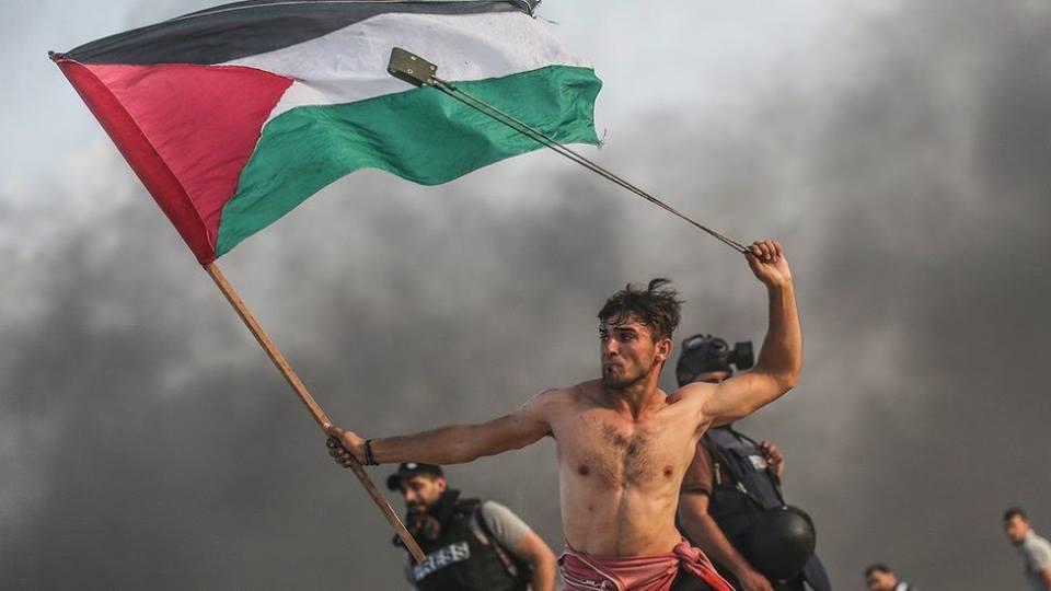فلسطيني معذور نوجوان جي مزاحمت